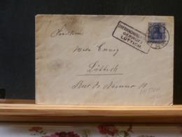 81/872A   LETTRE BERLIN POUR LA BELG. CENSURE LUTTICH - Sonstige Briefe U. Dokumente