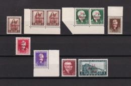 Albanien - 1943 - Michel Nr. 1+4/6+8/9+11 - Postfrisch - 50 Euro - Bezetting 1938-45