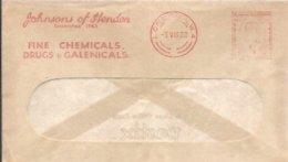 EMA  GRAN BRETAÑA 1933 - Chemistry