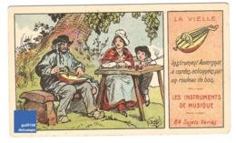 Chromo Instrument De Musique Vielle à Roue Auvergne Auvergnat Tradition Folklore A30-3 - Cromo