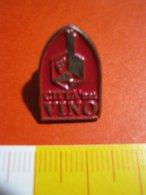 MED.1 PIN'S PIN PINS - ITALIA 1990 CITTA' DEL VINO LOGO VIN WINE CITY - Alimentazione