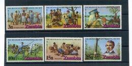 A24740)Sambia 102 - 107** - Zambie (1965-...)