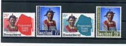 A24736)Swaziland 126 - 129** - Swaziland (1968-...)