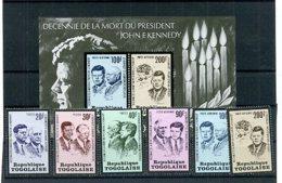 A24760)Togo 1003 - 1008 A** + Bl 79** - Togo (1960-...)