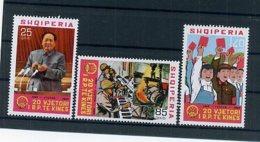A24763)Albanien 1380 - 1382** - Albania