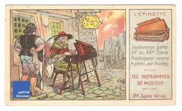 Chromo Instrument De Musique épinette Piano Taverne Au Pilon D'or De Rue A30-4 - Cromo