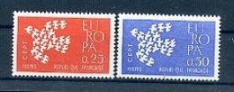 A25015)Frankreich 1363 - 1364**, Cept - Ungebraucht