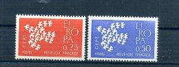 A25016)Frankreich 1363 - 1364**, Cept - Ungebraucht