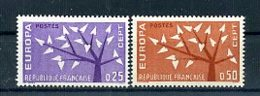 A25020)Frankreich 1411 - 1412**, Cept - Ungebraucht