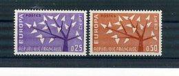 A25019)Frankreich 1411 - 1412**, Cept - Ungebraucht