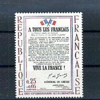 A25030)Frankreich 1484** - Ungebraucht