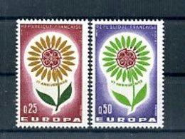 A25035)Frankreich 1490 - 1491**, Cept - Ungebraucht