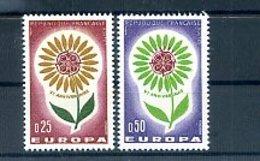 A25036)Frankreich 1490 - 1491**, Cept - Ungebraucht