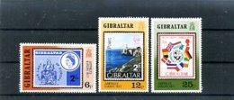 A25084)Gibraltar 364 - 366** - Gibraltar