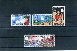 A25085)Gibraltar 207 - 210** - Gibraltar
