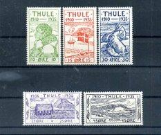 A25089)Groenland - Thule 1 - 5** - Groenland