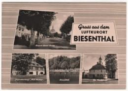 Biesenthal - S/w Mehrbildkarte 1 - Biesenthal