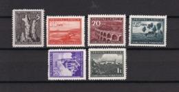 Laibach - 1945 - Michel Nr. 45/49+51 - Ungebr. - Bezetting 1938-45