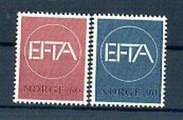 A25460)Norwegen 551 - 552** - Norwegen