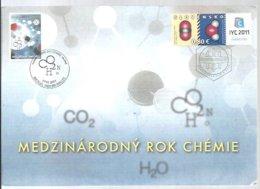 POSTMARKET  SLOVENSKO 2011 - Chemistry