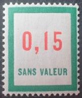R1949/1337 - TIMBRE FICTIF - N°F142 NEUF** - Phantomausgaben