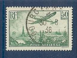 PA 14 OBLITERE SUPERBE DE 1936 - Poste Aérienne