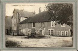 CPA - VANNOZ (39) - Aspect De La Fontaine Devant L'Ecole Et Le Chalet En 1939 - Otros Municipios
