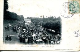 N°77578 Cpa Coutances -la Foire Saint Michel- - Coutances