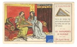 Chromo Instrument De Musique Psaltérion Moyen-âge Harpe A30-6 - Cromo