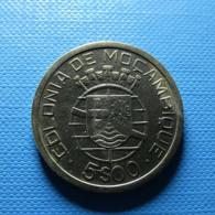 Portuguese Moçambique 5 Escudos 1949 Silver - Portugal