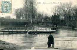N°77597 -cpa Caen -l'abreuvoir Du Champ De Course- - Caen
