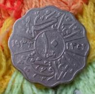 Iraq - 10 Fils - KM 98 - 1933 - King Faisal The 1st - Agouz - Iraq
