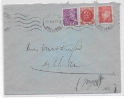 JUDAÏCA - ENVELOPPE De NANCY => M. DREYFUS à LE THILLOT En 1942 En ZONE OCCUPEE ! - Marcophilie (Lettres)