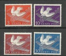 ESTLAND Estonia 1940 Michel 160 - 163 * - Estonie