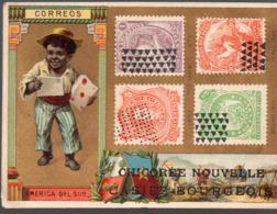 Cambrai (59 Nord) Chromo CHICOREE CASIEZ ET BOURGEOIS:timbres AMERIQUE DU SUD (PPP20792) - Cromo