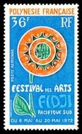 POLYNESIE 1972 - Yv. PA 63 **   Cote= 11,00 EUR - Arts Du Pacifique-Sud  ..Réf.POL24384 - Poste Aérienne