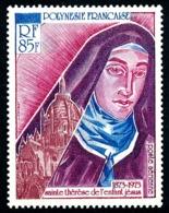 POLYNESIE 1973 - Yv. PA 71 * TB  Cote= 31,00 EUR - Sainte Thérèse De Lisieux  ..Réf.POL24388 - Poste Aérienne