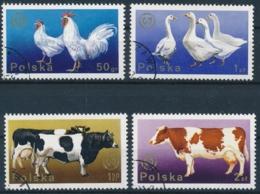 Polen - Säugetiere - Mammals - Mammifères - Hoftiere - Animaux De Ferme - Farm Animals - Sauber Gestempelte Serie - Farm