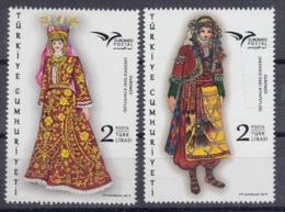 4.- TURKEY 2019 EUROMED (CLOTHING IN THE MEDITERRANEAN) - 1921-... Republic