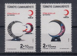 5.- TURKEY 2019 THE TURKISH RED CRESCENT150 YEARS OLD - 1921-... República
