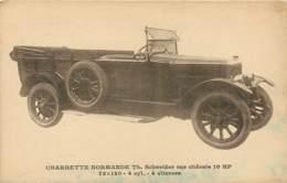 Automobile - Charrette Normande - Schneider - Passenger Cars