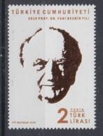 6.- TURKEY 2019 2019 PROF DR. FUAT SEZGİN YILI - 1921-... República