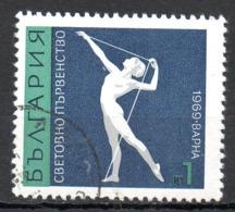 BULGARIE. N°1726 Oblitéré De 1969. Gymnastique. - Gymnastics