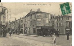 SAINT DIZIER Haute Marne La Place D'Armes Café Au Point Central  Edt Gauthier  ...G - Saint Dizier