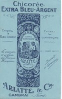 Buvard Ancien :  CHOCOREE Extra Bleu-Argent (13,5 X 21) - Alimentare