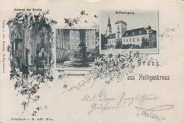 Heiligenkreuz * Bleibrunnen, Inneres Der Kirche, Stiftseingang, Stadtteil, Mehrbild * Österreich * AK1503 - Heiligenkreuz