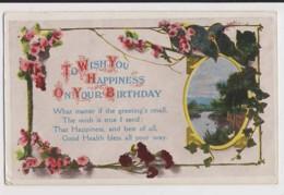 AJ32 Birthday Greeting - Flowers, Stream - Birthday