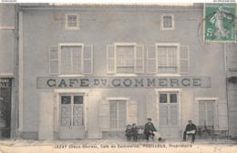 LEZAY - Café Du Commerce - POUILLOUX - Sonstige Gemeinden