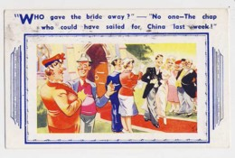 AJ32 Comic/humour - Who Gave The Bride Away? - Humor