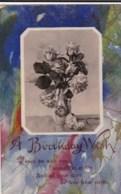 AL78 Greetings - A Birthday Wish - Vase With Flowers - Birthday